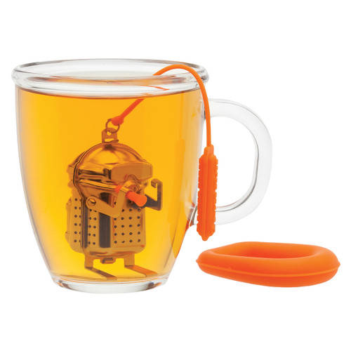 Scuba Diver Tea Infuser with Drip Tray