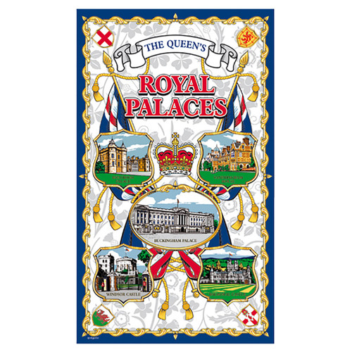 Royal Palaces Tea Towel