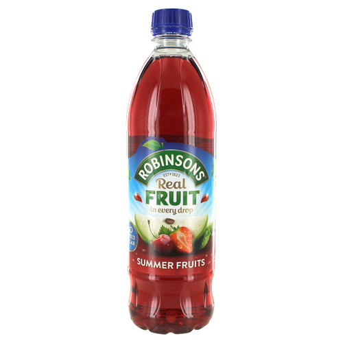 Robinsons No Sugar Added Summer Fruit Squash - 33fl. (1L)