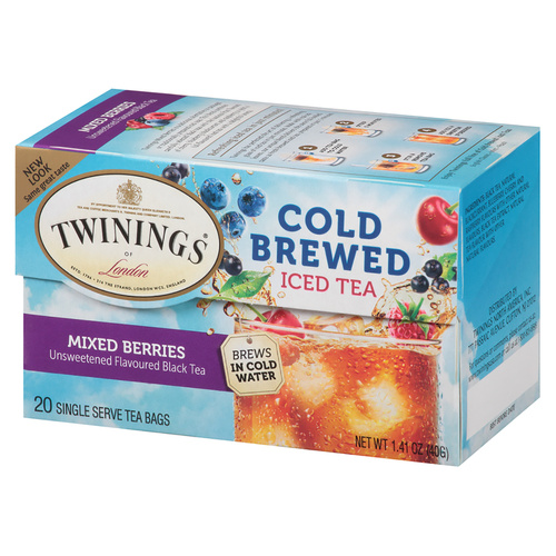 Twinings' Cold Brewed Iced Tea Mixed Berries - 20 count