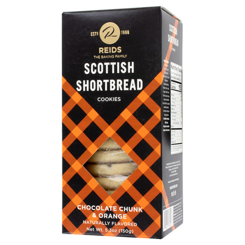 Reids Of Caithness Shortbread Carton, Chocolate Chunk 5.3oz (150g)