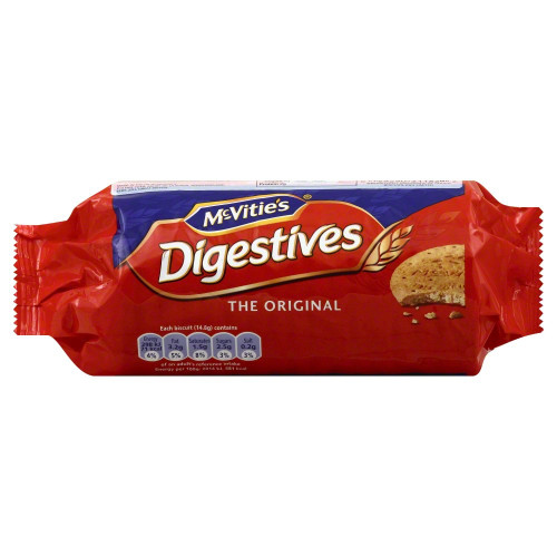 McVities Digestives (No Chocolate) - 8.8oz (250g)