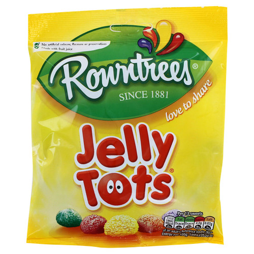 Nestle Rowntrees' Jelly Tots - 1.48oz (42g) - Clearance