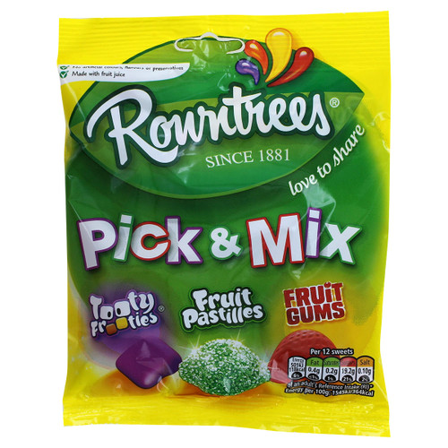 Nestle Rowntrees' Pick & Mix Bag - 5.29oz (150g) - Clearance