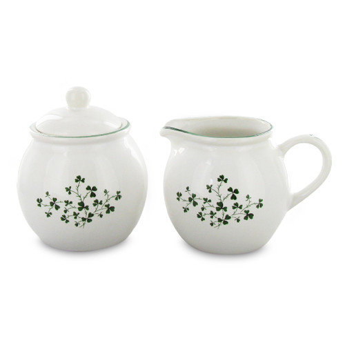 Shamrock Sugar & Creamer Set