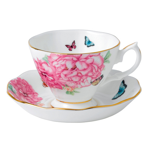 Royal Albert Fine Bone China - Miranda Kerr Friendship - Tea Cup & Saucer