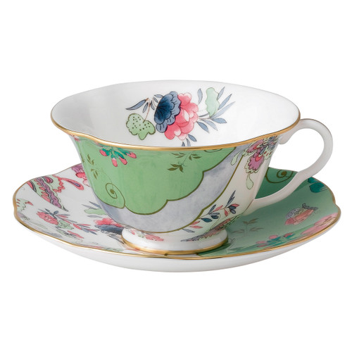 Wedgwood Butterfly Bloom Teacup & Saucer Set Butterfly Posy
