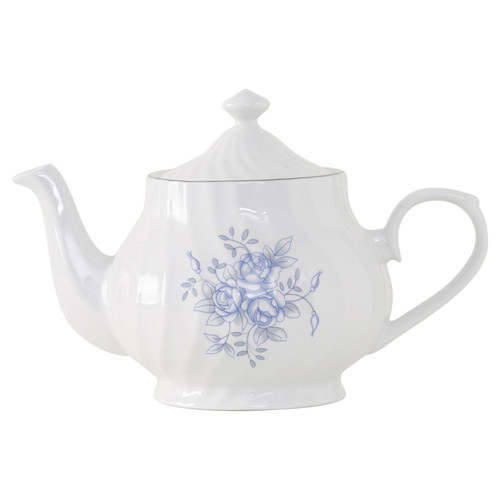 Royal Rose Porcelain Teapot - 37oz