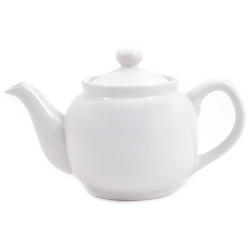 Amsterdam 2 Cup Teapot White
