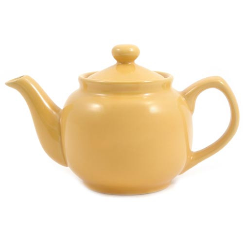 Amsterdam 2 Cup Teapot Yellow
