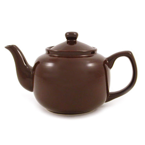 Amsterdam 6 Cup Teapot Brown