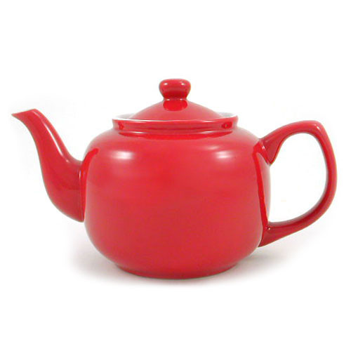 Amsterdam 6 Cup Teapot - Red