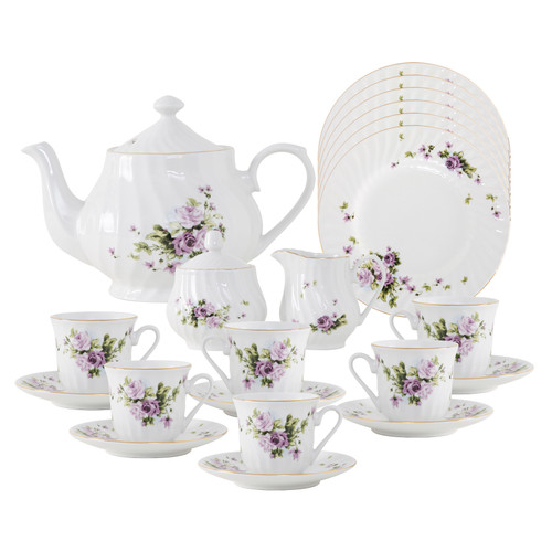 Lucinda Porcelain Tea Set