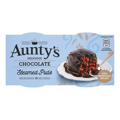 Aunty's Chocolate Fudge Steamed Pudding - 3.8oz (110g)