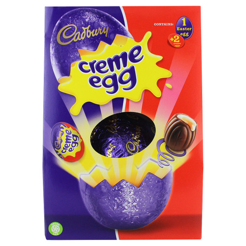 Cadbury Creme Large Easter Egg - 8.21oz (233g)