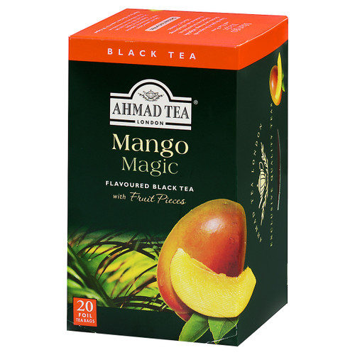 Ahmad Tea's Mango Magic Flavored Black Tea Bags - 20 count