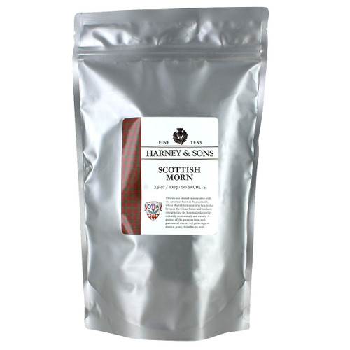 Harney and Sons Tea - Scottish Morn - 50 count