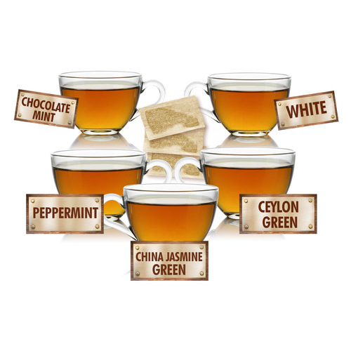 Desired Teas Sampler - 5 Tea Bags of 5 Delicious Teas