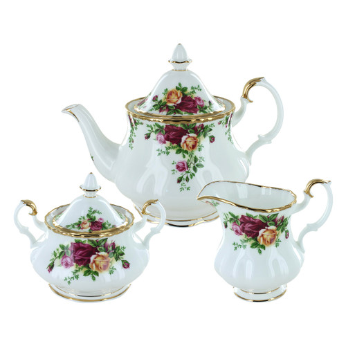Royal Albert Old Country Roses Fine Bone China - 3 Piece Set