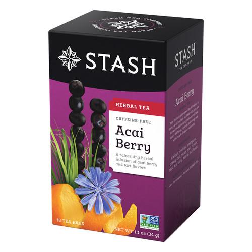 Stash Acai Berry Herbal Tea - 18 count