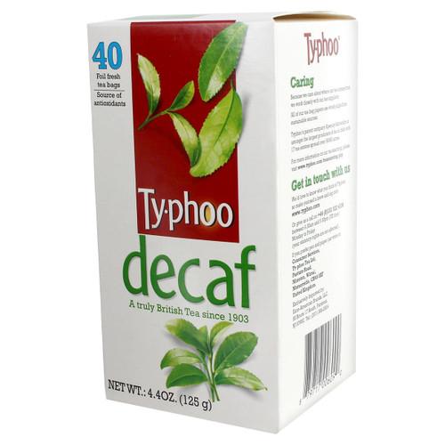 Typhoo Tea Decaf Tea Bags - 40 count
