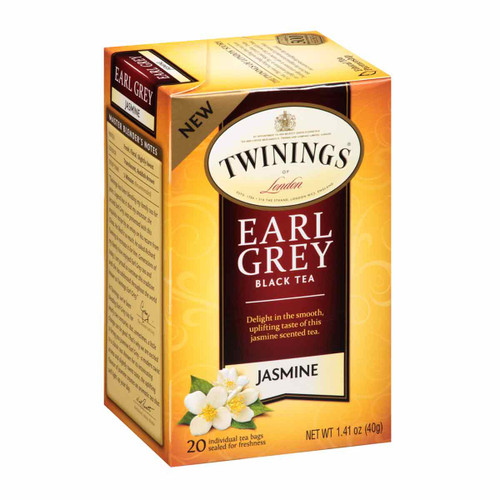 Twinings' Earl Grey Jasmine Tea - 20 count
