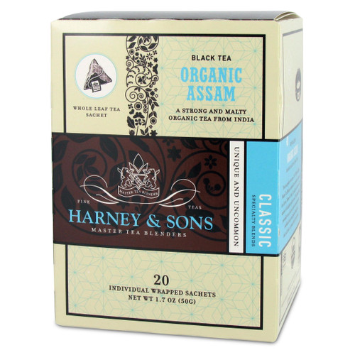 Harney and Sons Tea - Organic Assam - 20 count