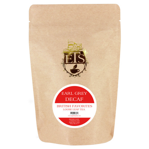 Earl Grey CO2 Decaf Tea - Loose Leaf