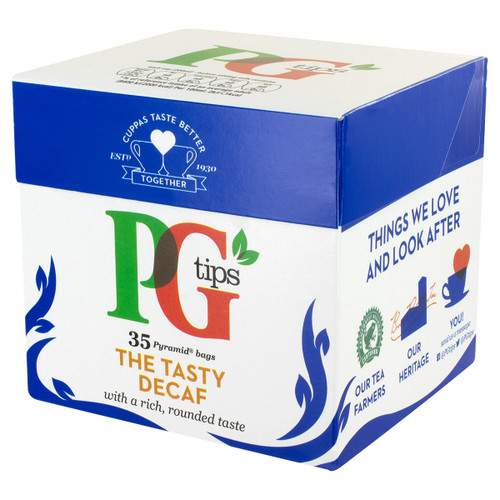 PG Tips Decaf Tea Bags - 35 Count