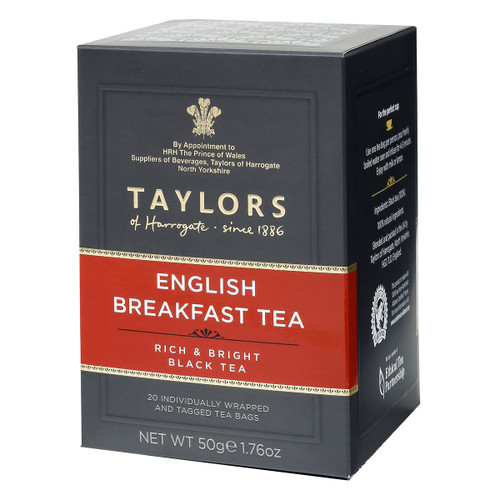 Taylors of Harrogate English Breakfast Tea Bags - 20 count