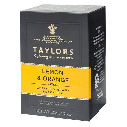 Taylors of Harrogate Tea - Lemon & Orange - 20 count