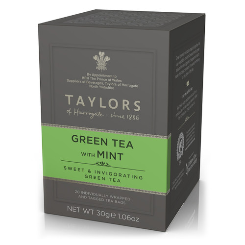 Taylors of Harrogate Tea - Green Tea with Mint - 20 count