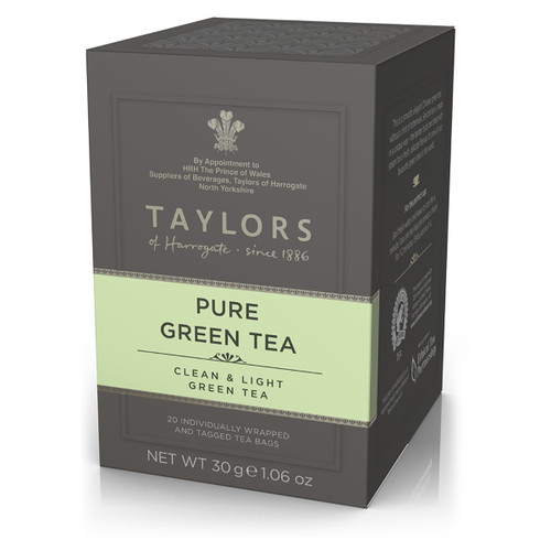 Taylors of Harrogate Tea - Pure Green Tea - 20 count