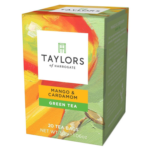 Taylors of Harrogate Tea - Mango & Cardamom Green Tea - 20 count