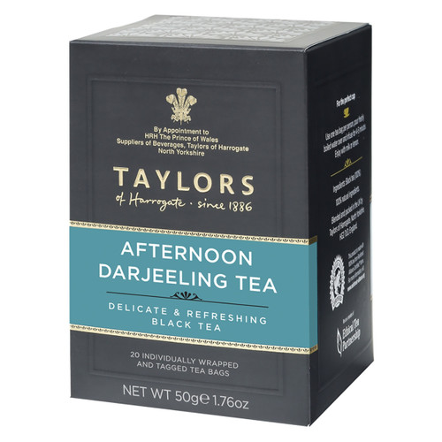 Taylors of Harrogate - Afternoon Darjeeling Tea Bags - 50 count
