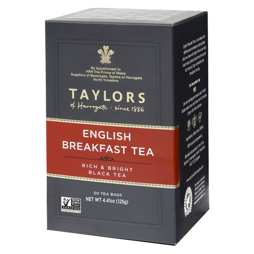 Taylors of Harrogate - English Breakfast Tea Bags - 50 count