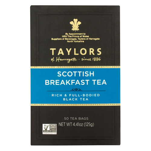 Taylors of Harrogate Scottish Breakfast Tea Bags - 50 count