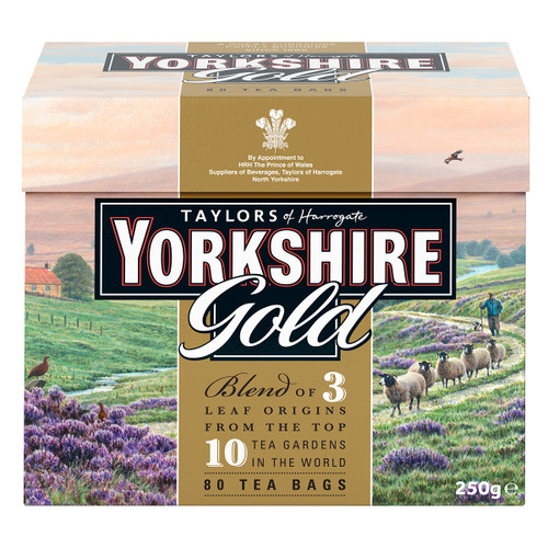Yorkshire Gold Tea Bags - 80 count