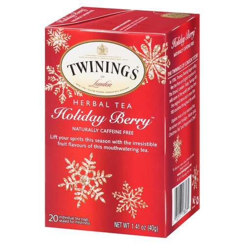 Twinings Herbal Tea - Holiday Berry  - 20 count