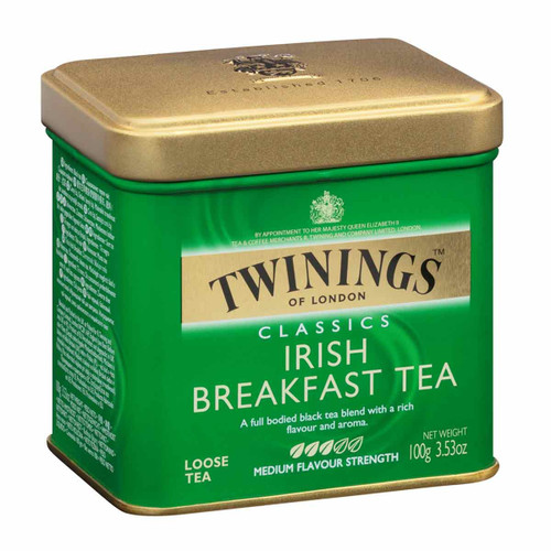 Twinings Irish Breakfast Loose Tea Tin - 3.53oz