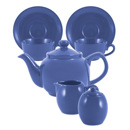 Amsterdam Tea Set - 2 Cup - Cadet Blue
