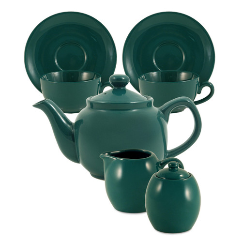 Amsterdam Tea Set - 2 Cup - Green