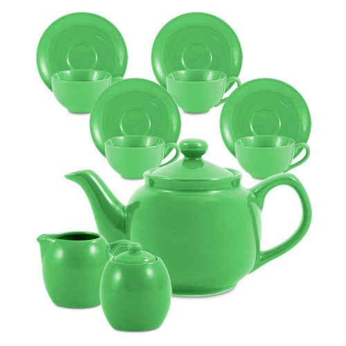 Amsterdam Tea Set - 6 Cup - Lime