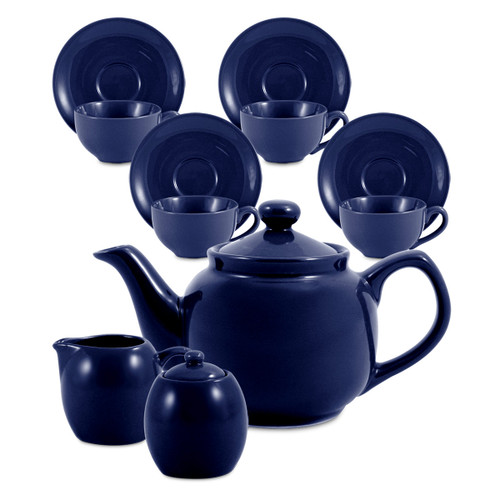 Amsterdam Tea Set - 6 Cup - Royal Blue