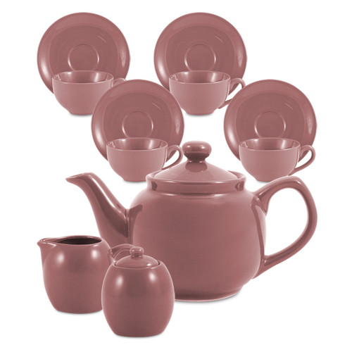 Amsterdam Tea Set - 6 Cup - Sierra Rose