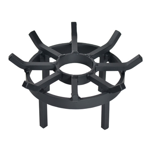 Wagon Wheel Outdoor Fire Pit Grate- 12 inch Diameter