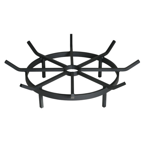 Wagon Wheel Outdoor Fire Pit Grate- 20 inch Diameter