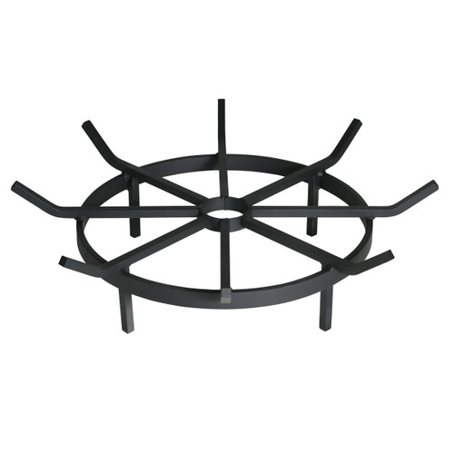 Wagon Wheel Outdoor Fire Pit Grate- 24 inch Diameter