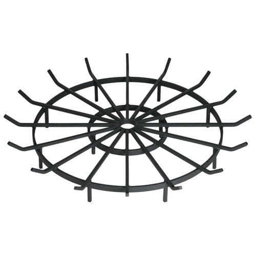 Wagon Wheel Outdoor Fire Pit Grate- 40 inch Diameter