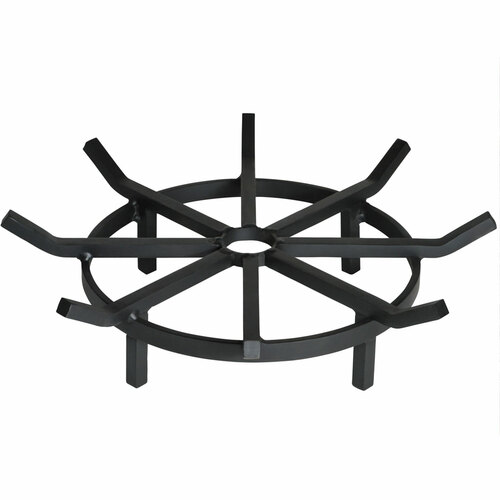 Super Heavy Duty Wagon Wheel Outdoor Fire Pit Grate- 20 inch Diameter